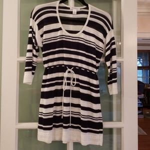 Fun Maternity Knit Tunic!  Size Small,  EUC